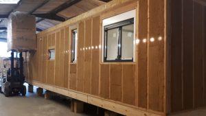 Ossature bois - isolation fibre de bois