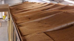 Isolation toiture en fibre de bois